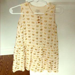 Ruffled tank dress/tunic